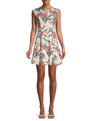 Stylestalker Valerie Printed A-Line Dress