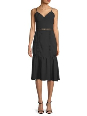 Abs By Allen Schwartz Fitted Spaghetti-Strap Sheath Dress