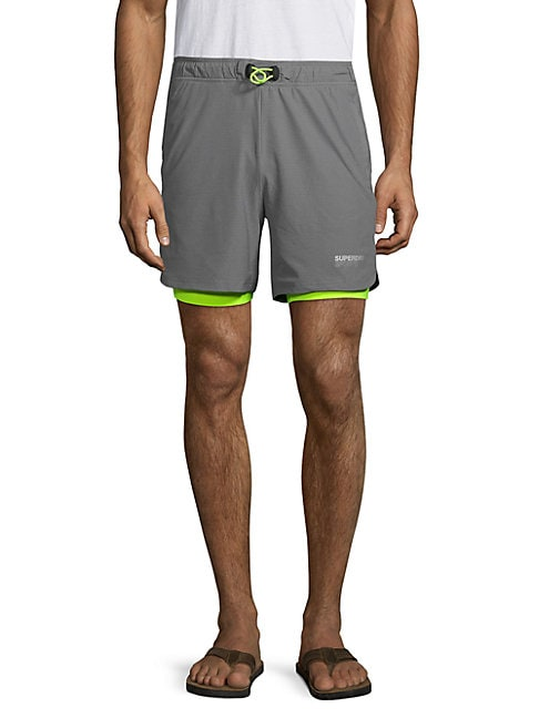 Stretch Double Layer Shorts