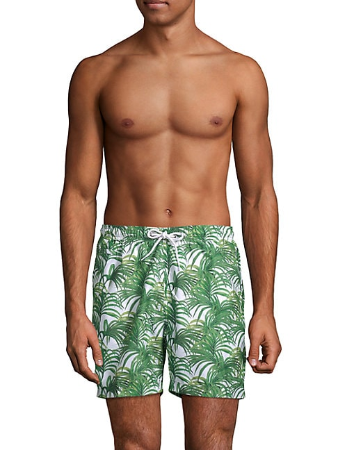 Jungle Leaves Sano Swim Shorts
