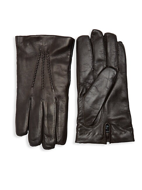 Touch Tech Leather Gloves