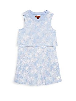 7 For All Mankind - Little Girl's Printed Dress