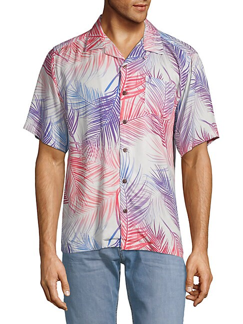 Camp Printed Short-Sleeve Shirt