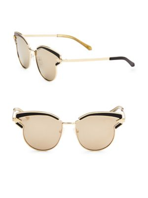 Karen Walker Superstars Feli 57MM Cat Eye Sunglasses