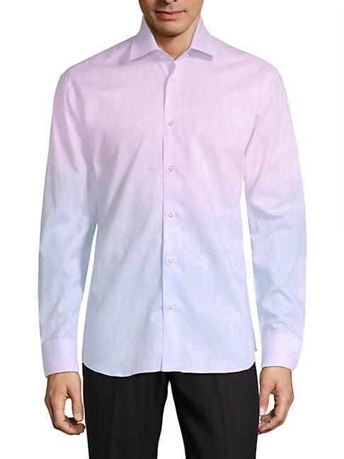 Yves Cotton Button-Down Shirt
