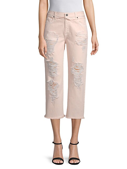 EI8HT DREAMS | Straight Cropped Jeans | Goxip