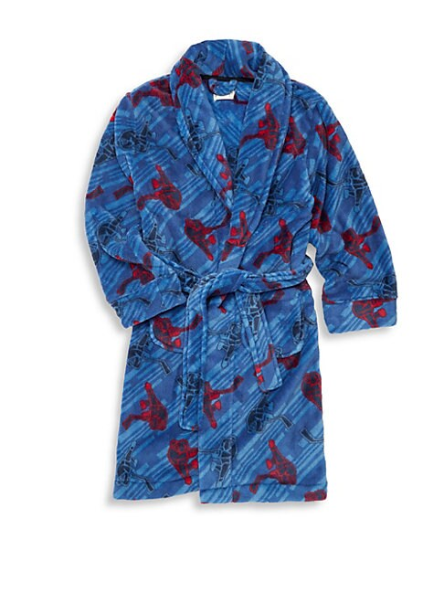 Boy's Printed Robe