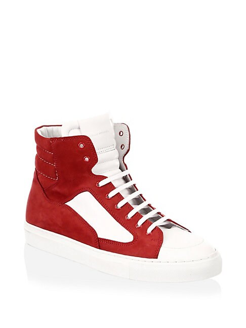 Artel Leather High Tops