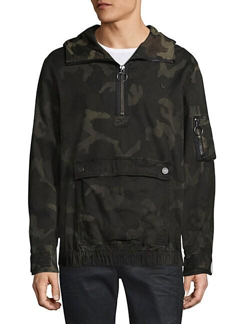 Camouflage Anorak
