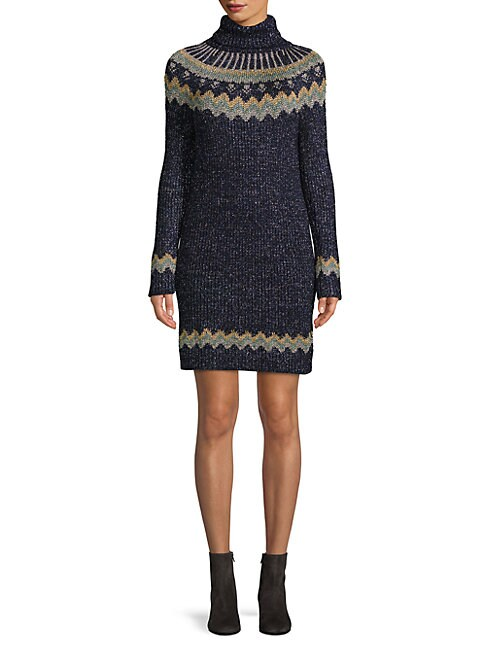Wool Blend Sweater Dress