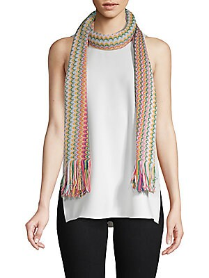 Multicolored Long Scarf