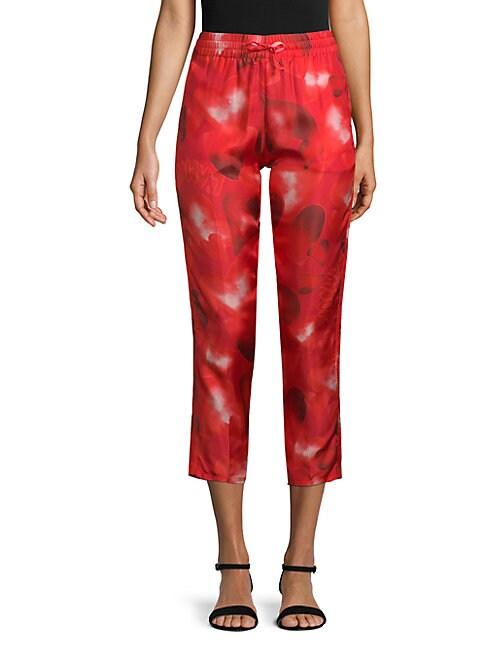 Heart Silk Pants