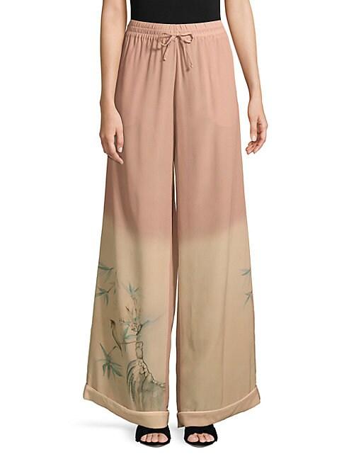 Ombre Silk Pants