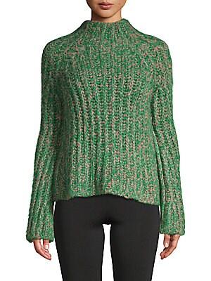 Ribbed Silk Sweater