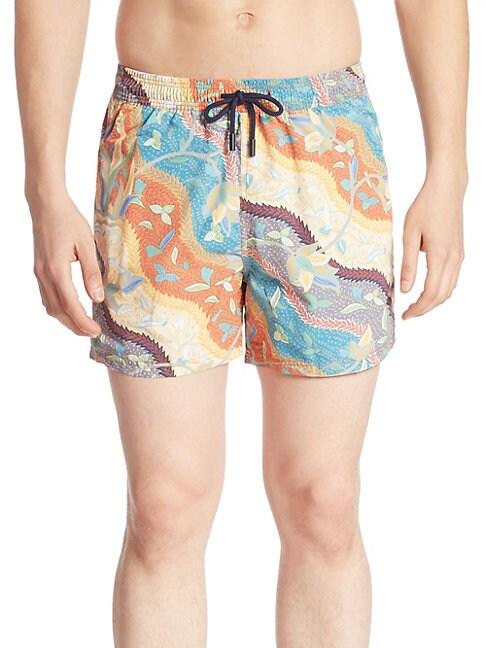Paisley Batik Shorts