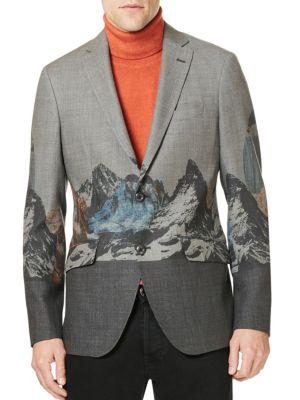 Etro Mountain Wool Sportcoat
