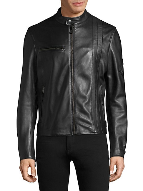 Hempston Leather Jacket