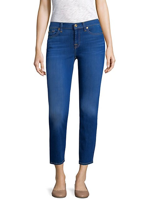 7 FOR ALL MANKIND | Roxanne Ankle Jeans | Goxip