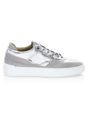 ANDROID HOMME Omega Low-Top Sneakers in Grey