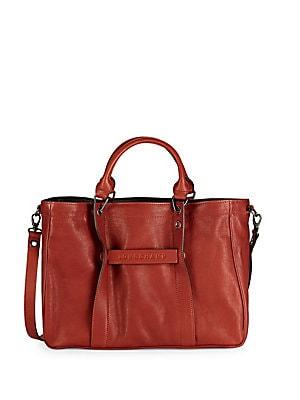 9c7a0a14c1ea Longchamp - Medium 3D Leather Top Handle Bag - saksoff5th.com