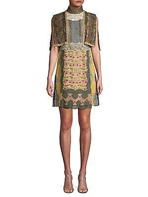 Macram Embroidered Dress
