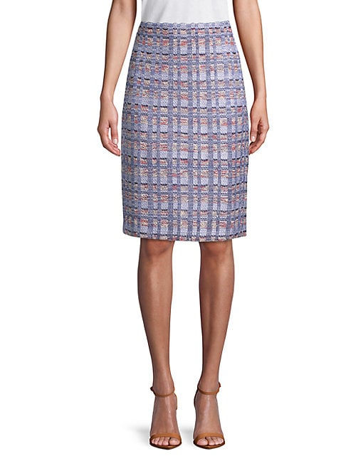 Marble Tweed Skirt