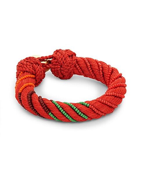 Maya Crystal Beaded Bracelet
