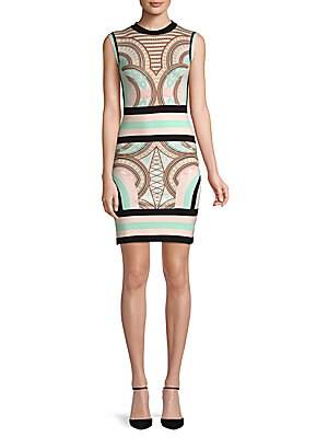 79e838f5 Pierre Balmain - Printed Sleeveless Mini Dress - saksoff5th.com