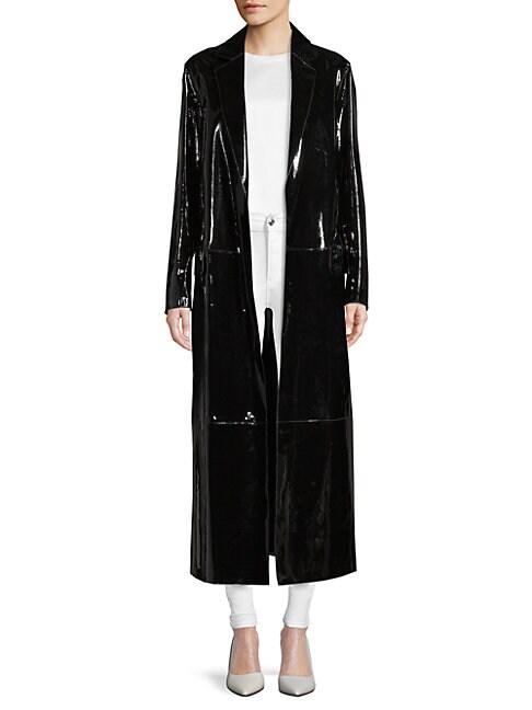 Patent Leather Coat