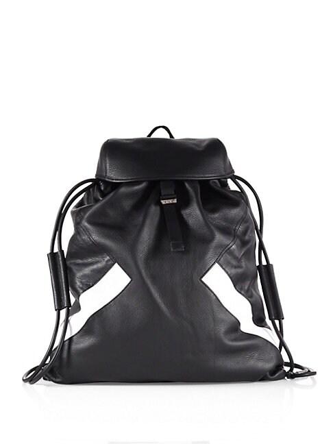 Retro Modernist   Leather Rucksack