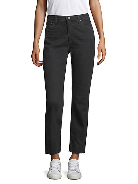 Isabelle High-Rise Straight Jeans