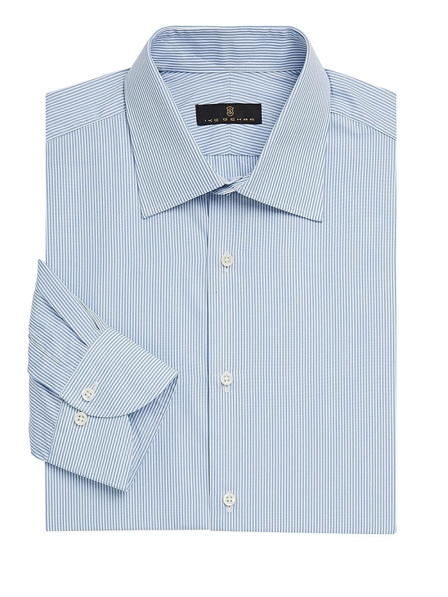 Men's Contemporary-Fit Stripe Dress Shirt