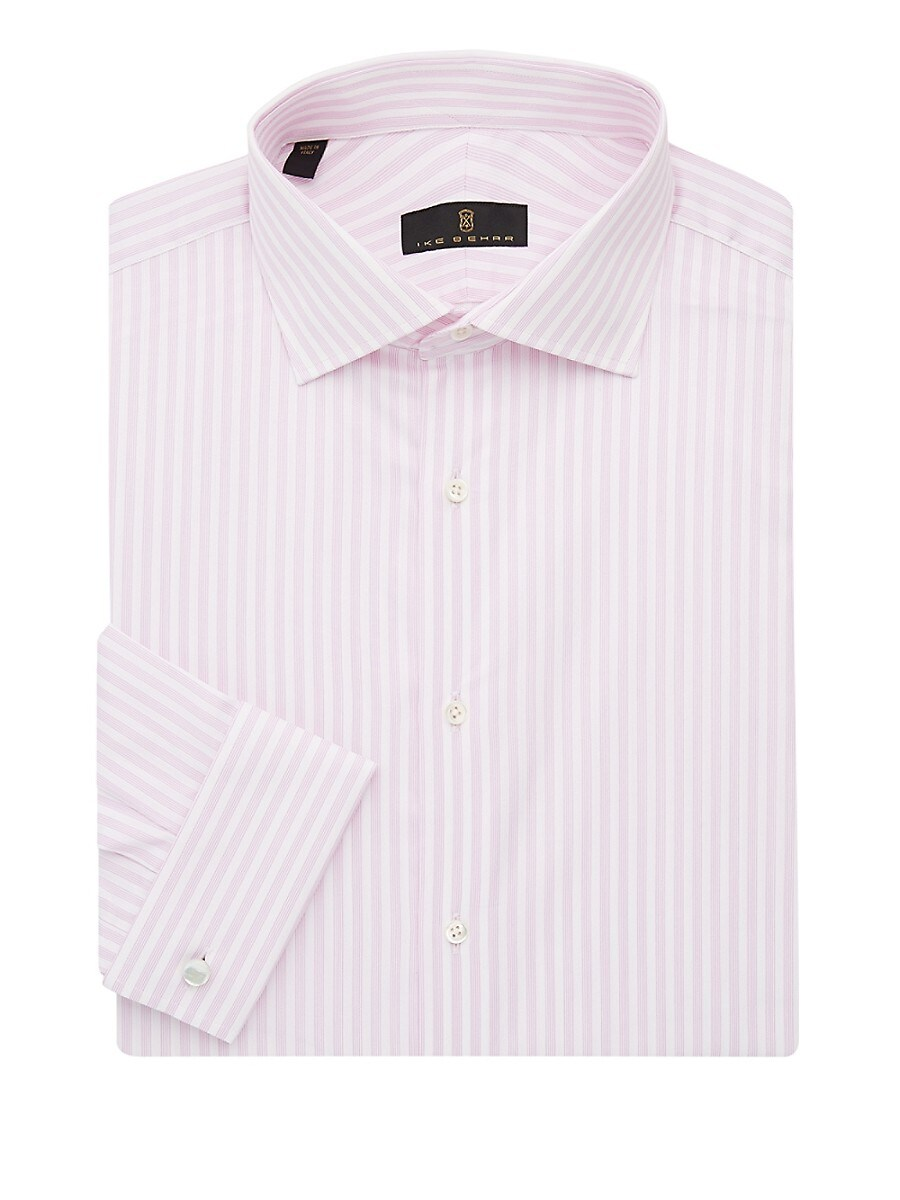 Men's Regular-Fit Striped Dress Shirt