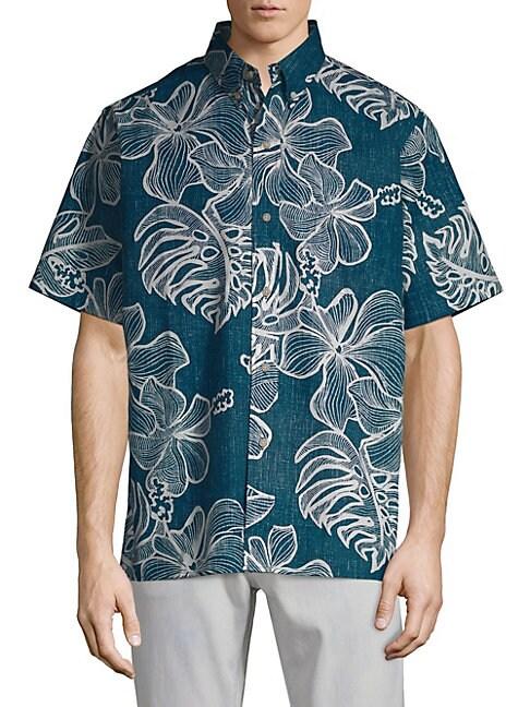 Mauna Monstera Button-Down Shirt