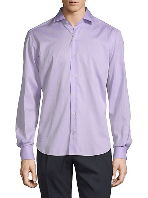 CULTURATA | Cotton Dress Shirt | Goxip