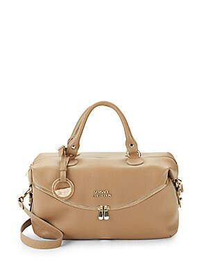 9b0a94c922 VERSACE LEATHER TOP HANDLE BAG