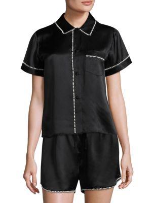Morgan Lane Tami Silk Pajama Top