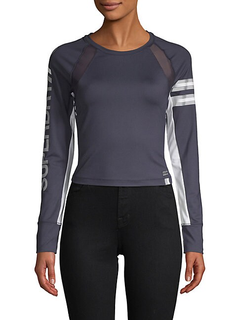 SPEED SPORTS CROPPED TOP