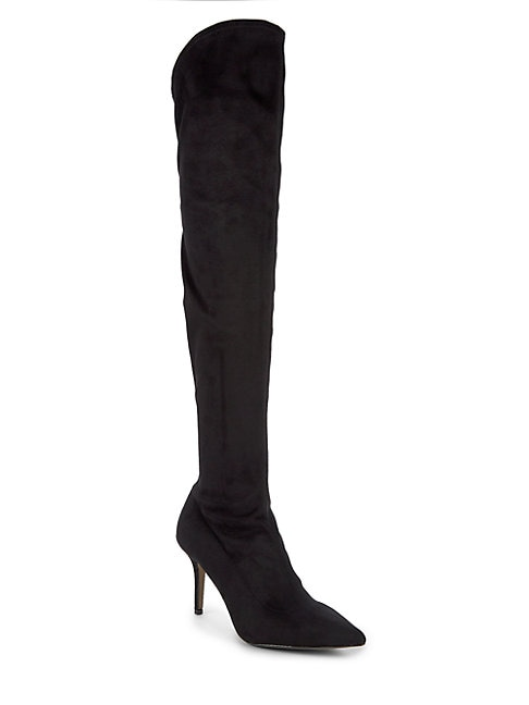 AVA & AIDEN | Lena Tall Stiletto Dress Boots | Goxip