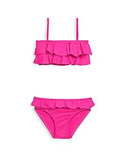 Melissa Odabash - Girl's Two-Piece Noemie Ruffled Bikini
