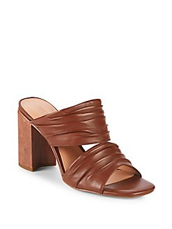 Halston Heritage - Kiera Leather Sandals