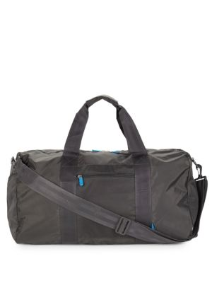 FLIGHT 001 Expandable Duffel Bag in Black