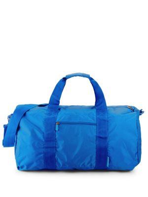 FLIGHT 001 Expandable Duffel Bag in Blue