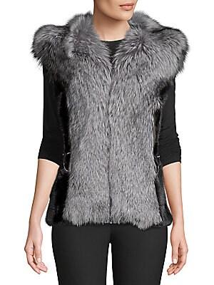 Made For Generation Fur Vest