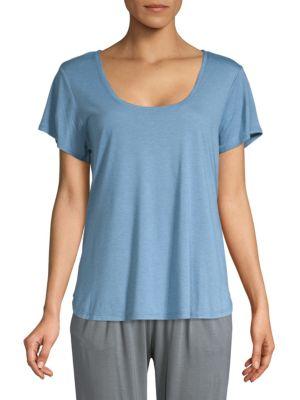 Natori Classic Short-Sleeve Top