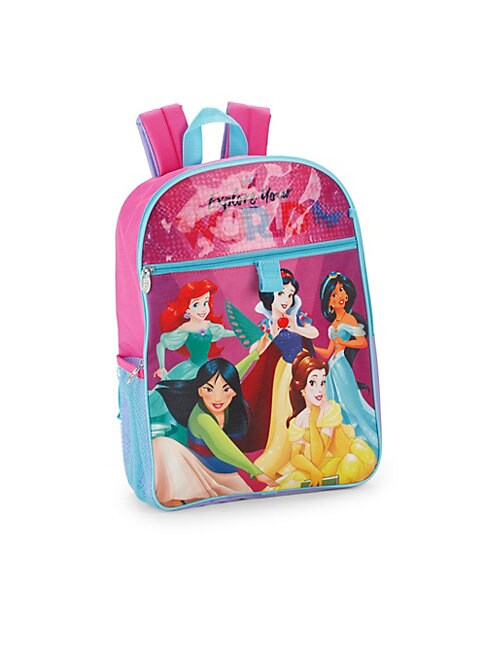 Girl's Princess Five-Piece Backpack Set