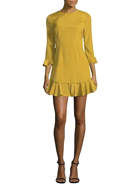 Sampson Bell-Sleeve Mini Dress