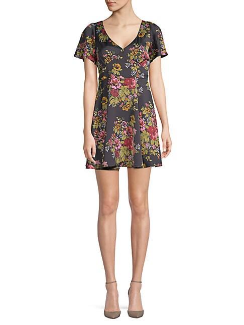 Avenue Floral Mini Dress