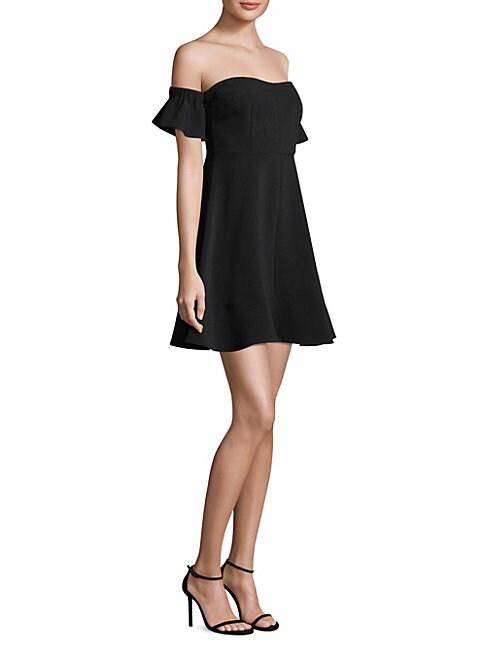 Bellerose Off-The-Shoulder Dress