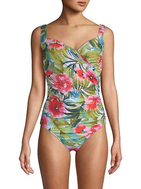 One-Piece Belle Rives Floral Swimsuit